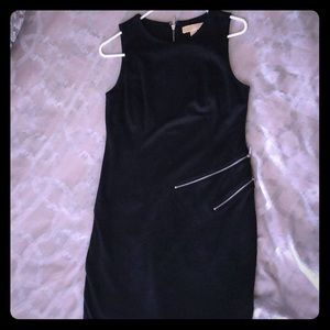Michael Kors black dress with zipper detail!